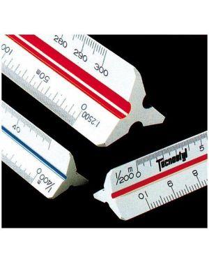 Scalimetro 91f 30 cm Tecnostyl 91/F 8010026370089 91/F by Tecnostyl