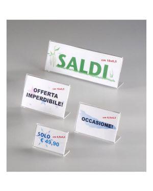 Porta comunicaz. in acrilico8 5x5 5 Tecnostyl PB008 8010026003789 PB008
