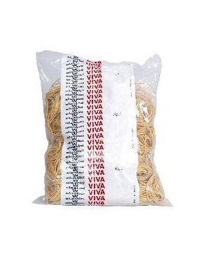 Busta elastici gialli diam.80mm Viva E080 8014035000364 E080