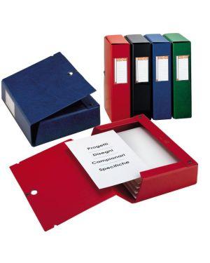 Scatola archivio scatto 120 25x35cm rosso sei rota 67901212 8004972011462 67901212_25625 by Sei Rota