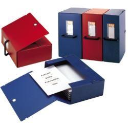 Scatola archivio big 120 250x350mm rosso c - maniglia sei rota 68001212 8004972012049 68001212_25627 by Sei Rota