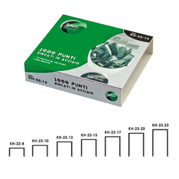 Scatola 1000 punti kh 23/10 per alti spessori KH-23-10_25649 by Esselte