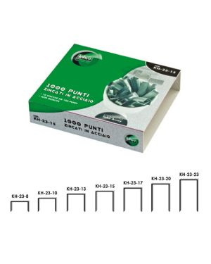 Scatola 1000 punti kh 23/17 per alti spessori KH-23-17_25652 by Esselte