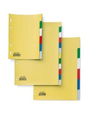 Separatore 6 tasti colorati 21x29,7 ppl record sa46n sei 580022_25671